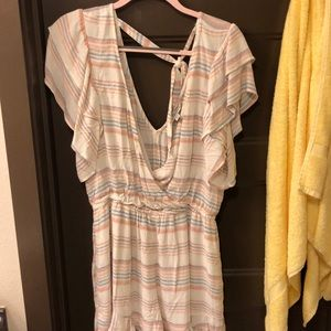 Striped romper from American Eagle